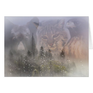 Beautiful Wildlife Season's Greetings Card