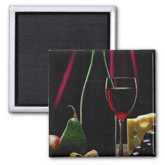 Beautiful Wine bottle Refrigerator Magnets