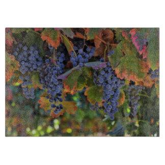 Beautiful Wine Grapes Vineyard Cutting Board