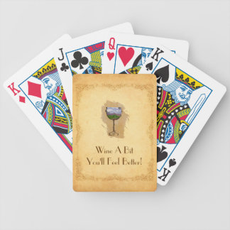 Beautiful Wine Lovers Playing Cards! Bicycle Playing Cards