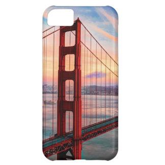 Beautiful winter sunset at Golden Gate Bridge iPhone 5C Case