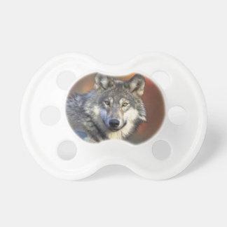 Beautiful Wolf Baby Pacifier