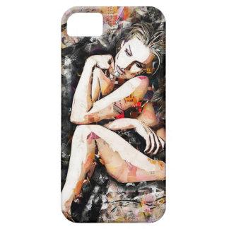 Beautiful Woman Art Cell Phone Case