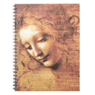 Beautiful Woman by Leonardo da Vinci Notebook