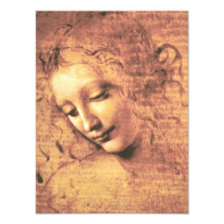 Beautiful Woman by Leonardo da Vinci Photo Print