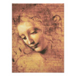 Beautiful Woman by Leonardo da Vinci Poster