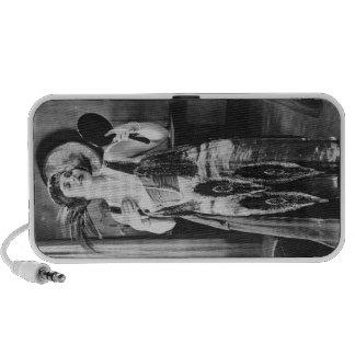 Beautiful Woman Flapper Dress 1920s Mp3 Speaker