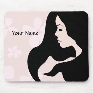 Beautiful Woman Pretty Mousepad