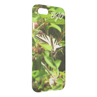 Beautiful Yellow Black Butterfly Crabapple Tree iPhone 7 Case