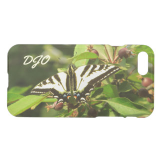 Beautiful Yellow Black Butterfly on Crabapple Tree iPhone 7 Case
