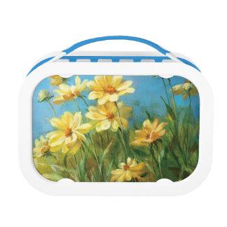 Beautiful Yellow Daisies Lunch Box