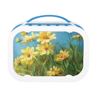 Beautiful Yellow Daisies Lunchbox
