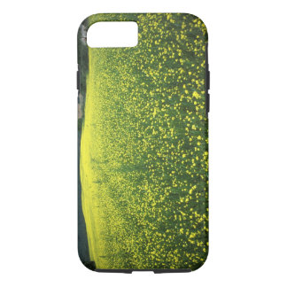 Beautiful yellow flower covered fields of San iPhone 8/7 Case