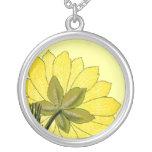 Beautiful Yellow flower Custom Jewelry