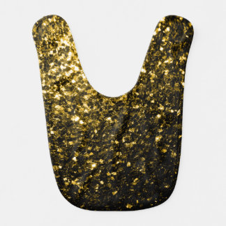 Beautiful Yellow Gold sparkles Bib