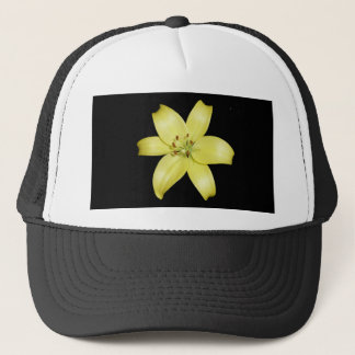 Beautiful Yellow Lily Trucker Hat