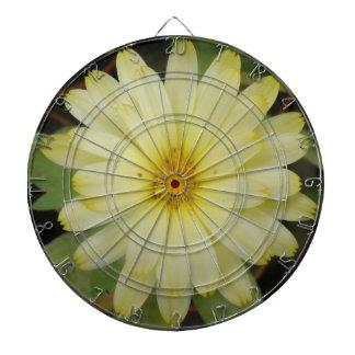 Beautiful Yellow Marigold Dart Board