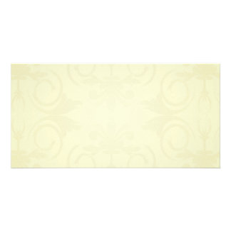Beautiful yellow roses and floral wedding gift photo cards