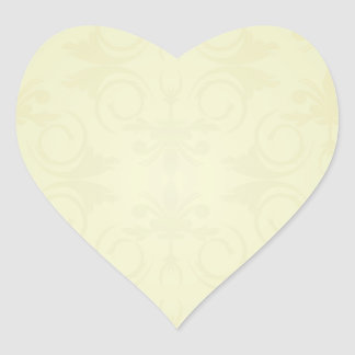 Beautiful yellow roses and floral wedding gift heart stickers