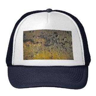 Beautiful Yellow Rust Mesh Hats