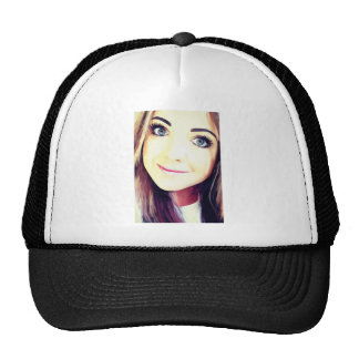 Beautiful Young Woman Cap