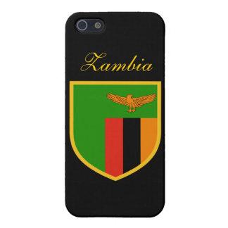 Beautiful Zambia Flag iPhone 5/5S Covers