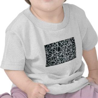 Beautiful Zebra Web of Black and White Stripes.JPG T-shirts