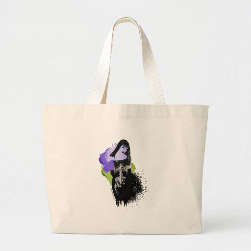 Beautiful zombie, dead sexy jumbo tote bag
