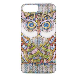 BEAUTIFULL BLUE EYED OWL iPhone 8 PLUS/7 PLUS CASE