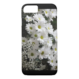 Beautifull Iphone 7 Back and white daisy phone cas iPhone 8/7 Case