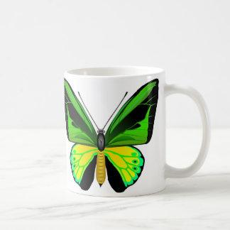 Beautifull Ornithoptera butterfly Basic White Mug
