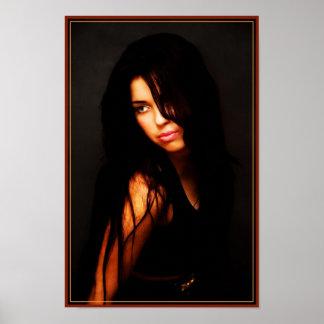 Beautifull women poster