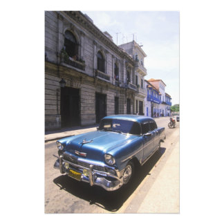 Beautifully classic Chevrolet restored from Photo Print