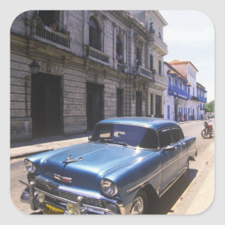 Beautifully classic Chevrolet restored from Square Sticker