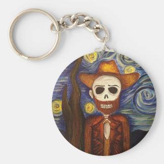 Beautifully Dead Van Gogh Keychain