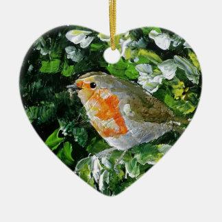 Beautifully designed Robin Christmas Ornament