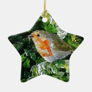 Beautifully designed Robin Christmas Ornament
