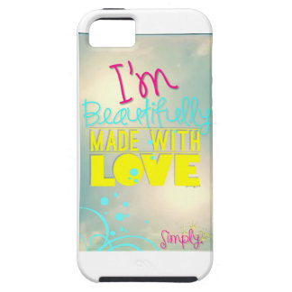 Beautifully Made with Love G5 Phone Cover iPhone 5 Cases