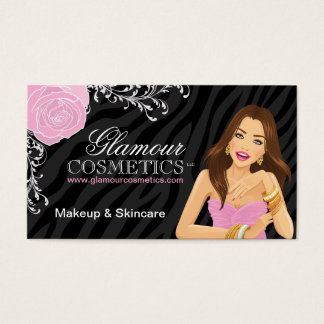 Beauty Advisor Business Cards