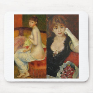 Beauty and Art can do everything Mouse Pad
