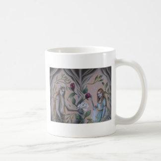 beauty and beast coffee mug