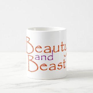 Beauty and Beast Mugs