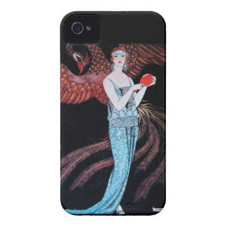 BEAUTY AND PHOENIX,FASHION DESIGNER MAKE UP ARTIST iPhone 4 Case-Mate CASES