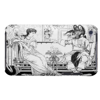 Beauty and the Beast, 1874 (litho) (b/w photo) Barely There iPod Covers