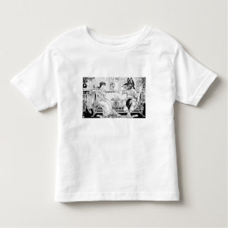 Beauty and the Beast, 1874 (litho) (b/w photo) Toddler T-Shirt