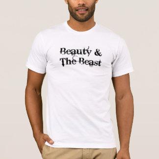 Beauty and The Beast Black & White TShirt Men