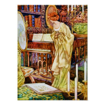 Beauty and the Beast Charles Robinson Art Print