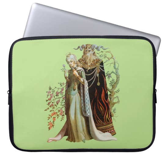 Beauty and the Beast Laptop Sleeve