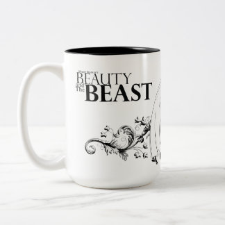 Beauty and The Beast logo mug
