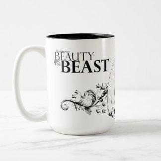 Beauty and The Beast logo mug